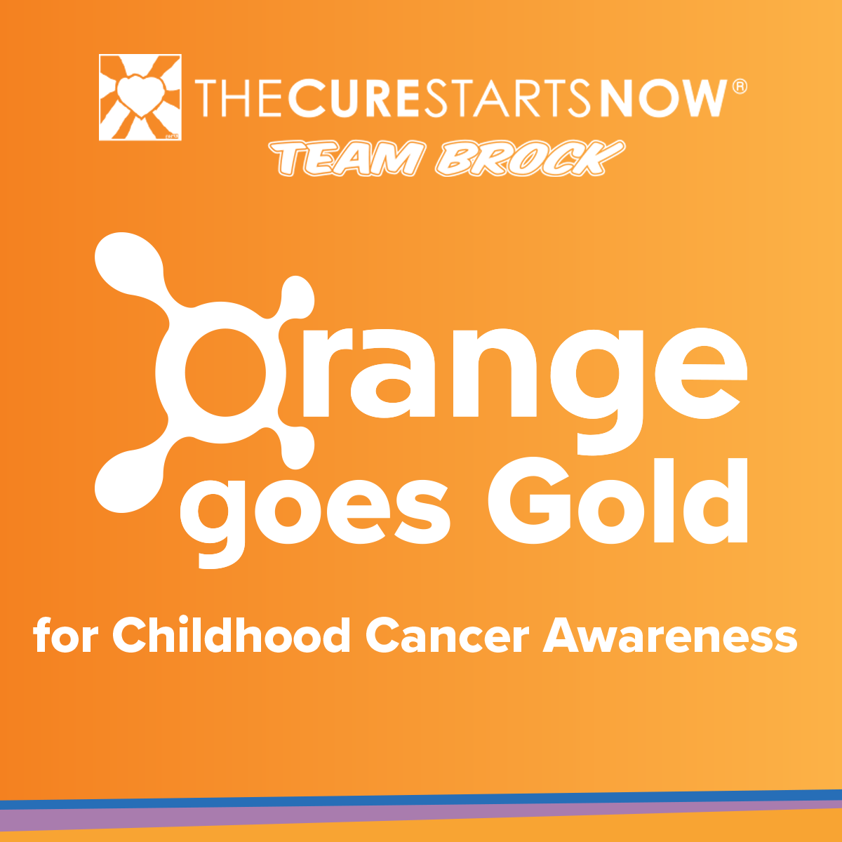 Orange Goes Gold