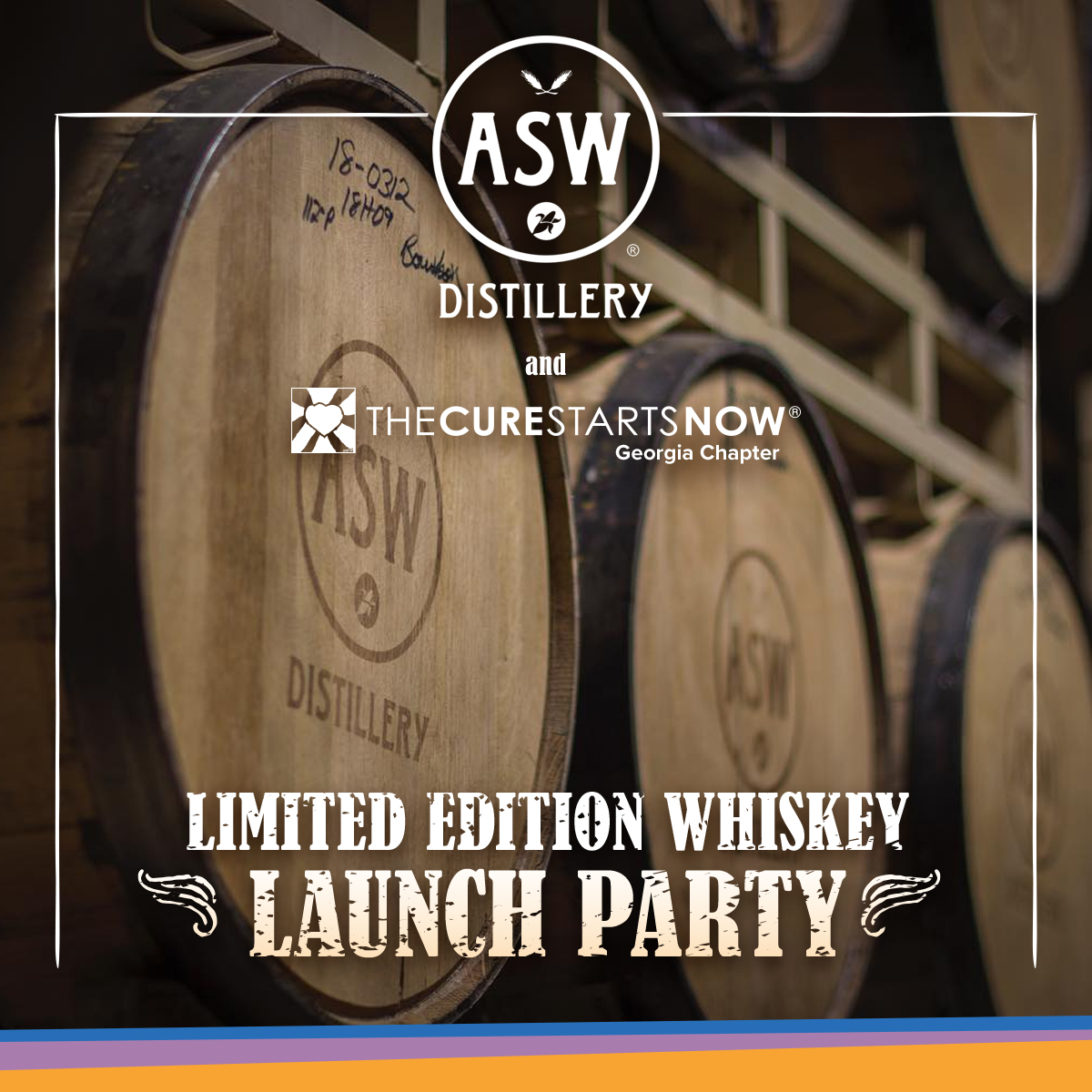 ASW's Cure Starts Now Whiskey Launch Party