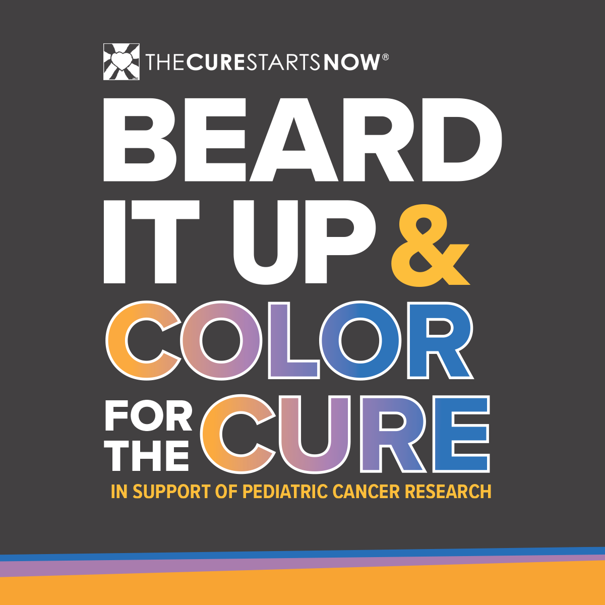 Beard It UP & Color for the Cure